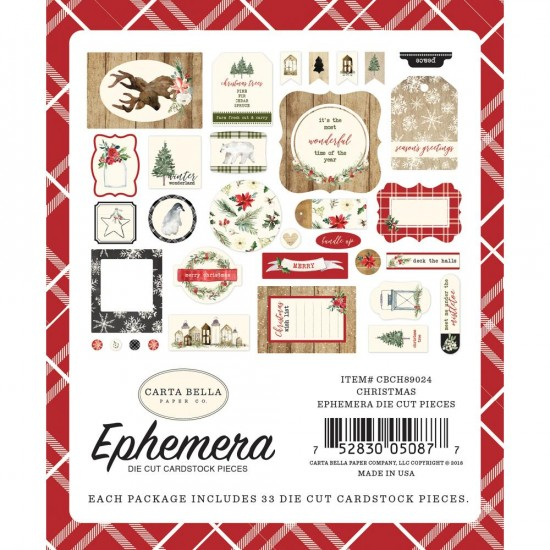 Carta Bella - Éphéméra «Icons» ensemble  33pcs