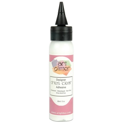 Art Institute Glitter Designer - Colle «Dries Clear» 2oz