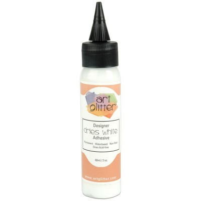 Art Institute Glitter Designer - Colle «Dries white» 2oz