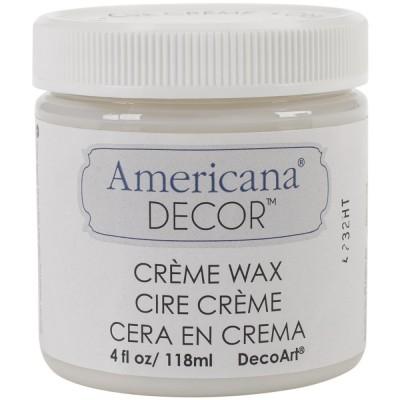 Americana Decor - Cire en crème transparente 4oz