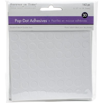 "Forever in Time - «Pop Dot Adhesives» .375"" 162pc"