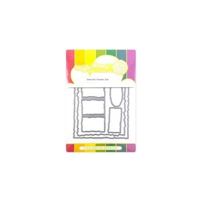 Waffle Flower - Dies «Deckled Frames» 5 pcs