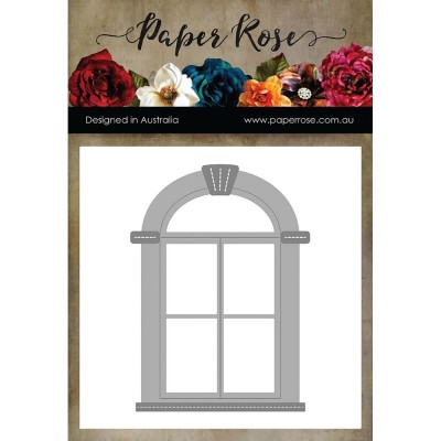 Paper Roses - Dies «Tudor Arched Window»