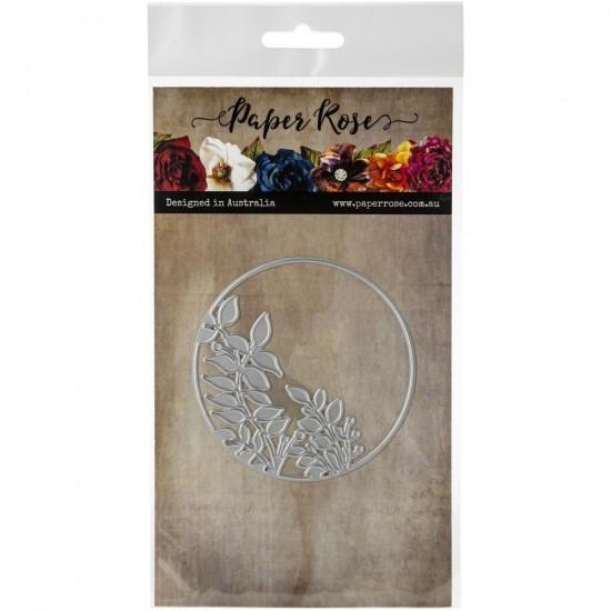 """Paper Roses- Dies «Leafy Circle 3.15""""»"""