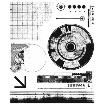 PRÉCOMMANDE- Tim Holtz  -Stampers Anonymous «Glitch 1»  7 modèles différents