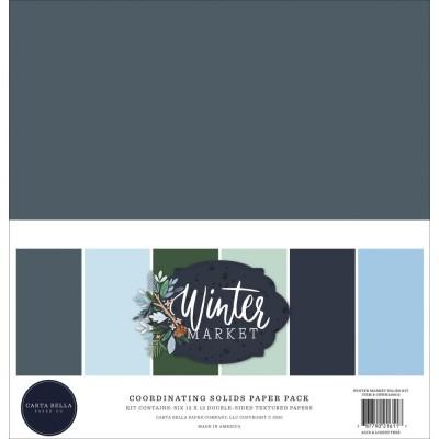 "Carta Bella - ensemble de papier «Winter market» 12"" X 12"" 6 feuilles"