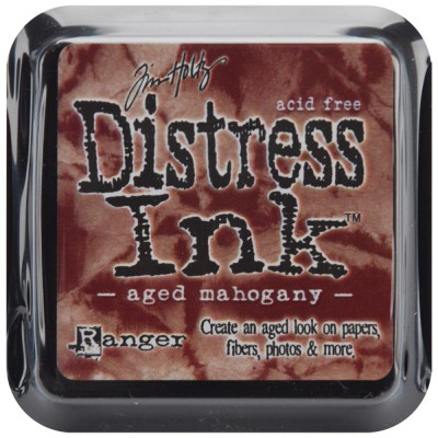 "Distress Oxides Ink Pad - Tim Holtz- couleur ""Aged Mahogany"""