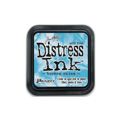 PRÉCOMMANDE-Distress Ink Pad «Broken China»