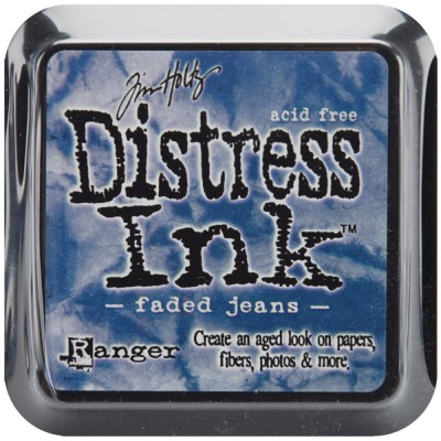 PRÉCOMMANDE-Distress Ink Pad «Faded Jeans»