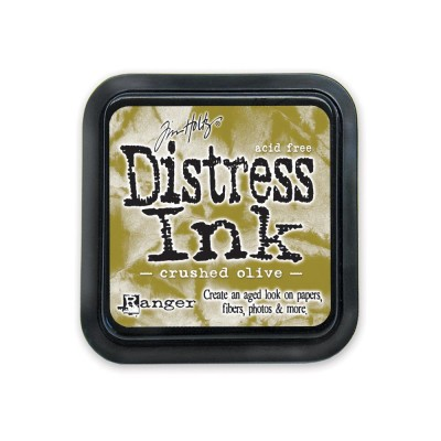PRÉCOMMANDE-Distress Ink Pad «Crushed Olive»
