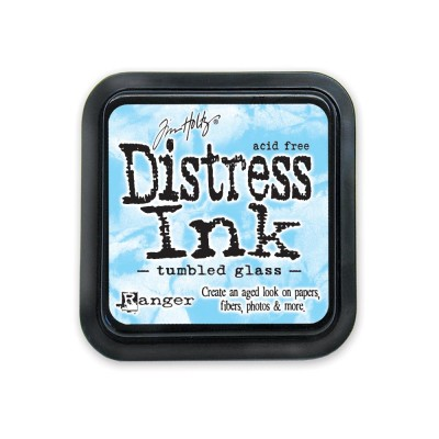 PRÉCOMMANDE-Distress Ink Pad «Tumbled Glass»