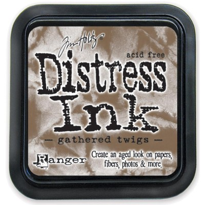 PRÉCOMMANDE-Distress Ink Pad «Gathered Twigs»