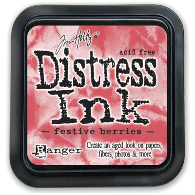 PRÉCOMMANDE-Distress Ink Pad «Festive Berries»