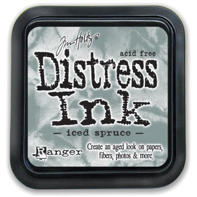 PRÉCOMMANDE-Distress Ink Pad «Iced Spruce»
