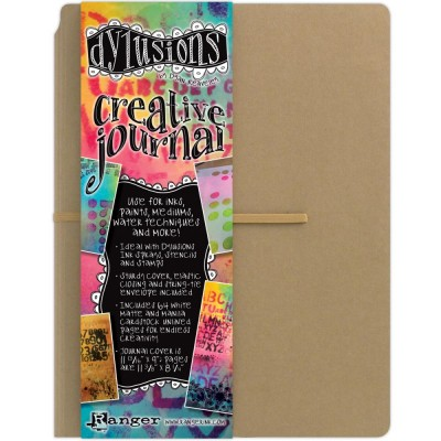 "Ranger - Journal «Dylusions Creative» couleur craft  11.75""X 9"""