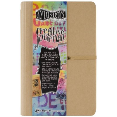 "Ranger - Journal «Dylusions Creative» couleur craft 8.5""X5.5"""