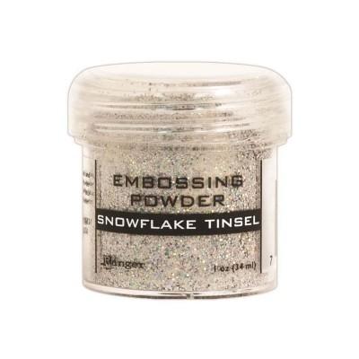 Ranger - Poudre à embosser couleur «Snowflake Tinsel»