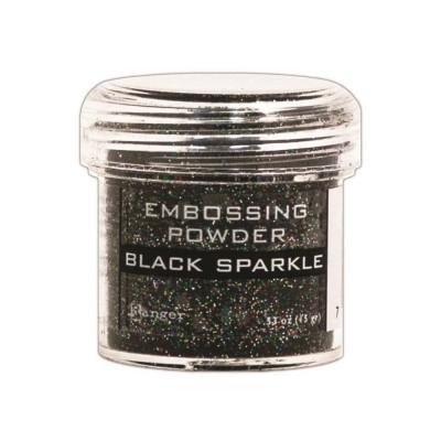 Ranger - Poudre à embosser couleur «Black Sparkle»