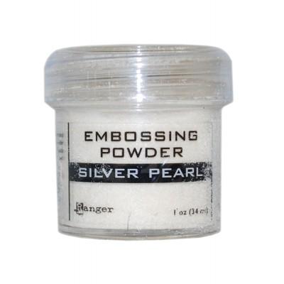 Ranger - Poudre à embosser couleur «Silver Pearl»