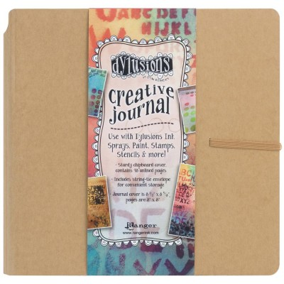 "Ranger - Journal «Dylusions Creative» couleur craft  8.75"" X 9"""