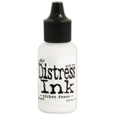 Distress Reinker 0.5 oz couleur «Picket Fence»