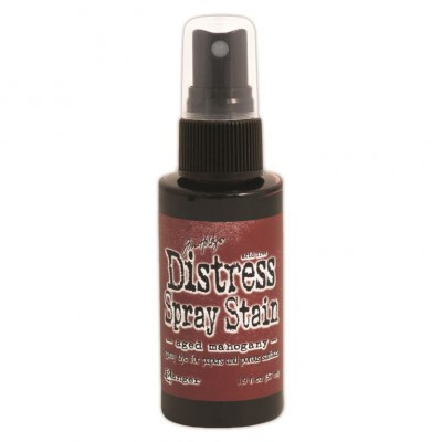 Distress Spray Stain 1.9oz couleur «Aged Mahogany»