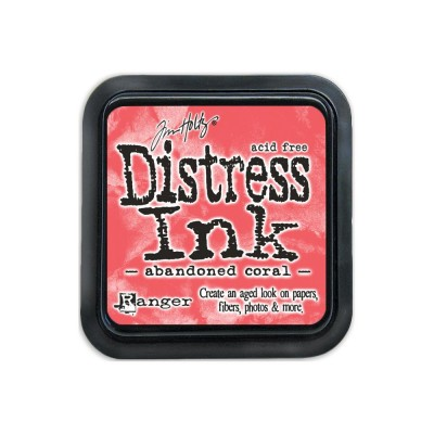 PRÉCOMMANDE-Distress Ink Pad «Abandoned Coral»