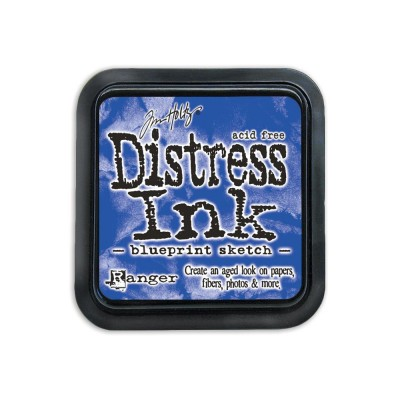 Distress Ink Pad «Blueprint Sketch»