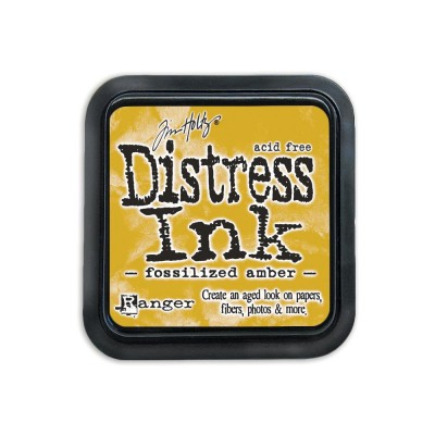 PRÉCOMMANDE-Distress Ink Pad «Fossilized Amber»