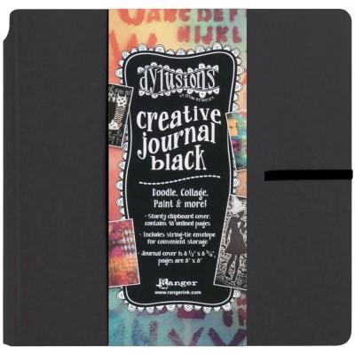 """Ranger - Journal «Dylusions Creative» couleur Noire 8.75"""" X 9"""""""