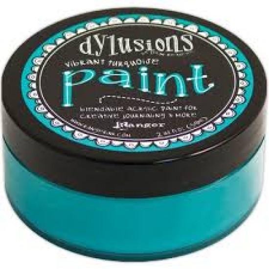 Dylusions - Peinture acrylique mélangeable 2oz - Vibrant Turquoise