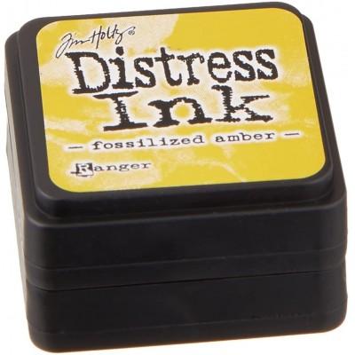 Distress Mini Ink Pad «Fossilized Amber»