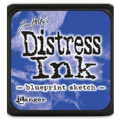 Distress Mini Ink Pad «Blueprint Sketch»