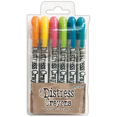 Tim Holtz - Ensemble de crayons Distress «Set #10»