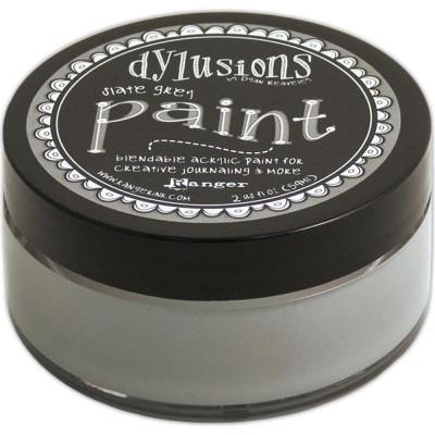 Dylusions - Peinture acrylique mélangeable 2oz - Slate Grey