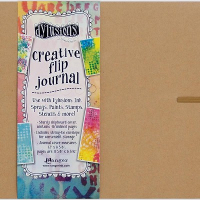 "Ranger - Journal «Dylusions Creative» couleur craft 12""X8.5"" format horizontal"