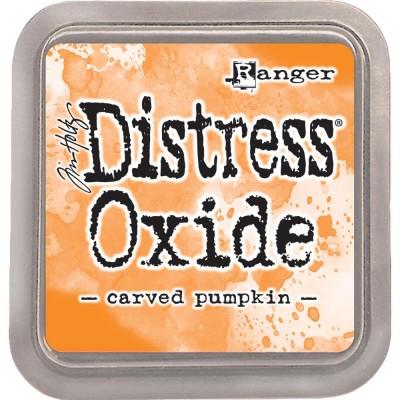 Distress Oxide Ink Pad - Tim Holtz - couleur «Carved Pumpkin»