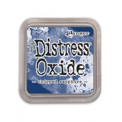 Distress Oxides Ink Pad - Tim Holtz- couleur «Chipped Sapphire»
