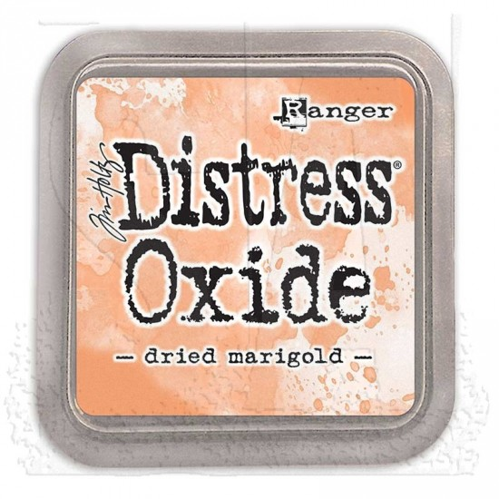 Distress Oxide Ink Pad - Tim Holtz - couleur «Dried Marigold»