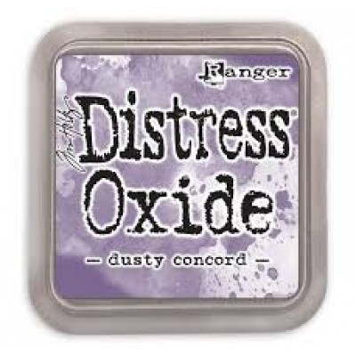 Distress Oxide Ink Pad - Tim Holtz - couleur «Dusty Concord»