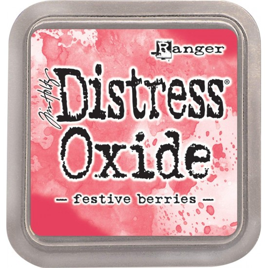 Distress Oxide Ink Pad - Tim Holtz - couleur «Festive Berries»