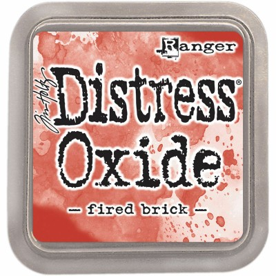 Distress Oxide Ink Pad - Tim Holtz - couleur «Fired Brick»