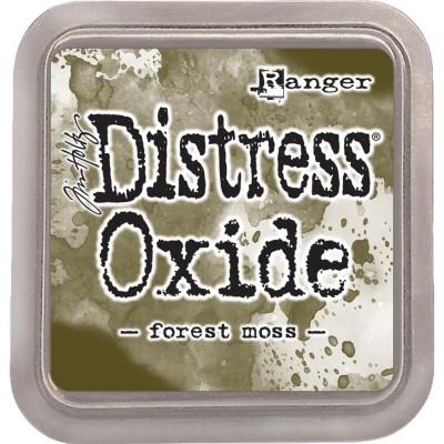 Distress Oxide Ink Pad - Tim Holtz - couleur «Forest Moss»