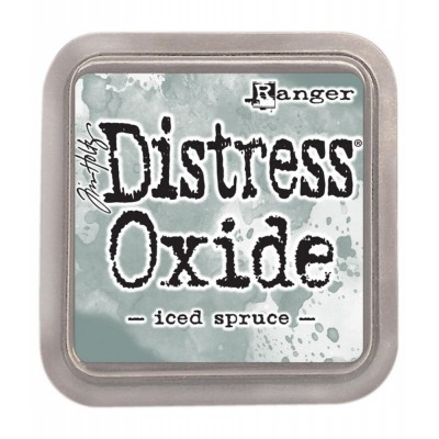 Distress Oxides Ink Pad - Tim Holtz- couleur «Iced spruce»