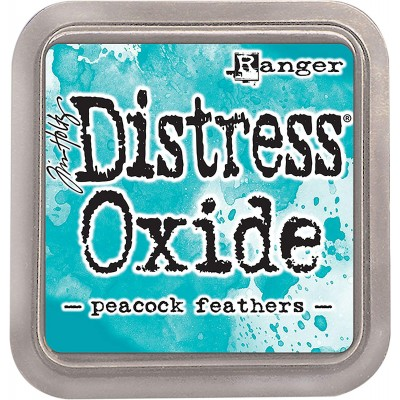 Distress Oxide Ink Pad - Tim Holtz - couleur «Peacock Feathers»