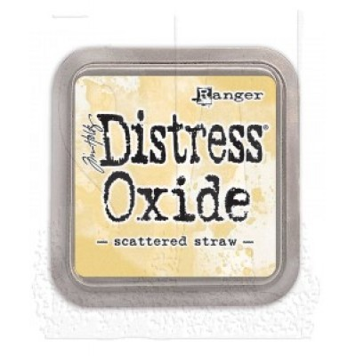 Distress Oxides Ink Pad - Tim Holtz- couleur «Scattered Straw»