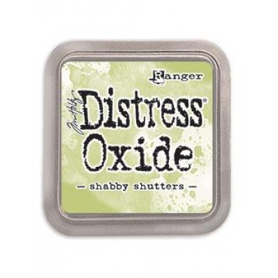Distress Oxides Ink Pad - Tim Holtz- couleur «Shabby Shutters»