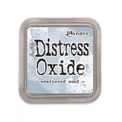 Distress Oxides Ink Pad - Tim Holtz- couleur «Weathered Wood»
