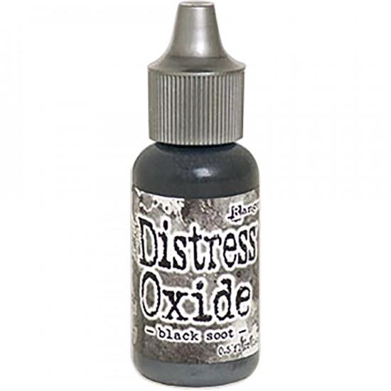 Distress Oxides Reinkers - Tim Holtz- couleur «Black Soot»