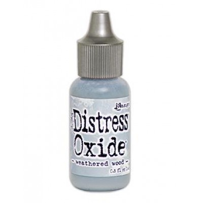 "Distress Oxides Reinkers - Tim Holtz- couleur ""Weathered Wood"""